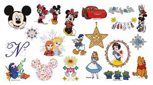 Disney hímzőminták