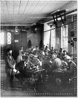 a pfaff gyár dolgozói