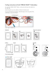 Pfaff Creative 1.5 hímzőminták