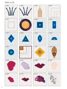 Pfaff Creative Icon hímzőminták