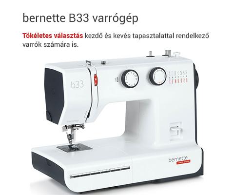 bernette B33 varrógép