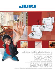 Juki MO-644D lock ismertető