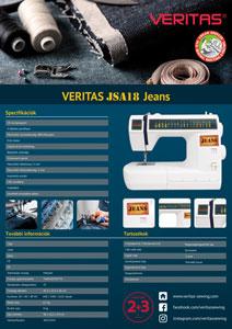 Veritas JSA18 varrógép ismertető