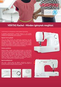 Veritas Rachel varrógép ismertető